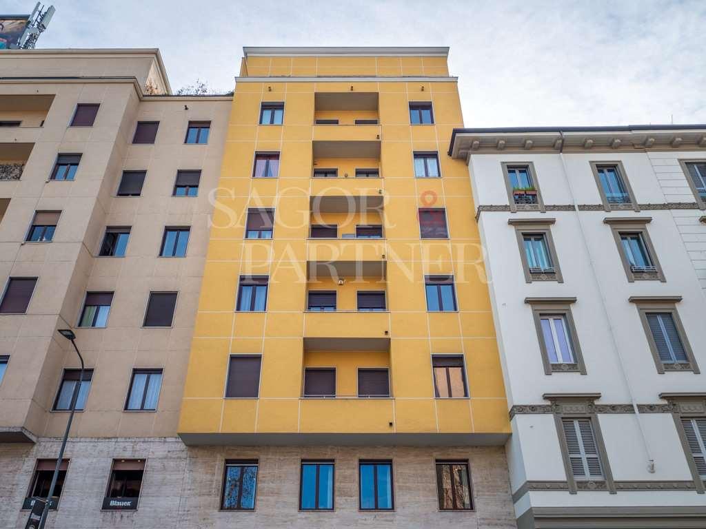 trilocale in affitto corso Garibaldi